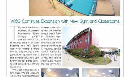 WISS Opens Second Gym and Pool