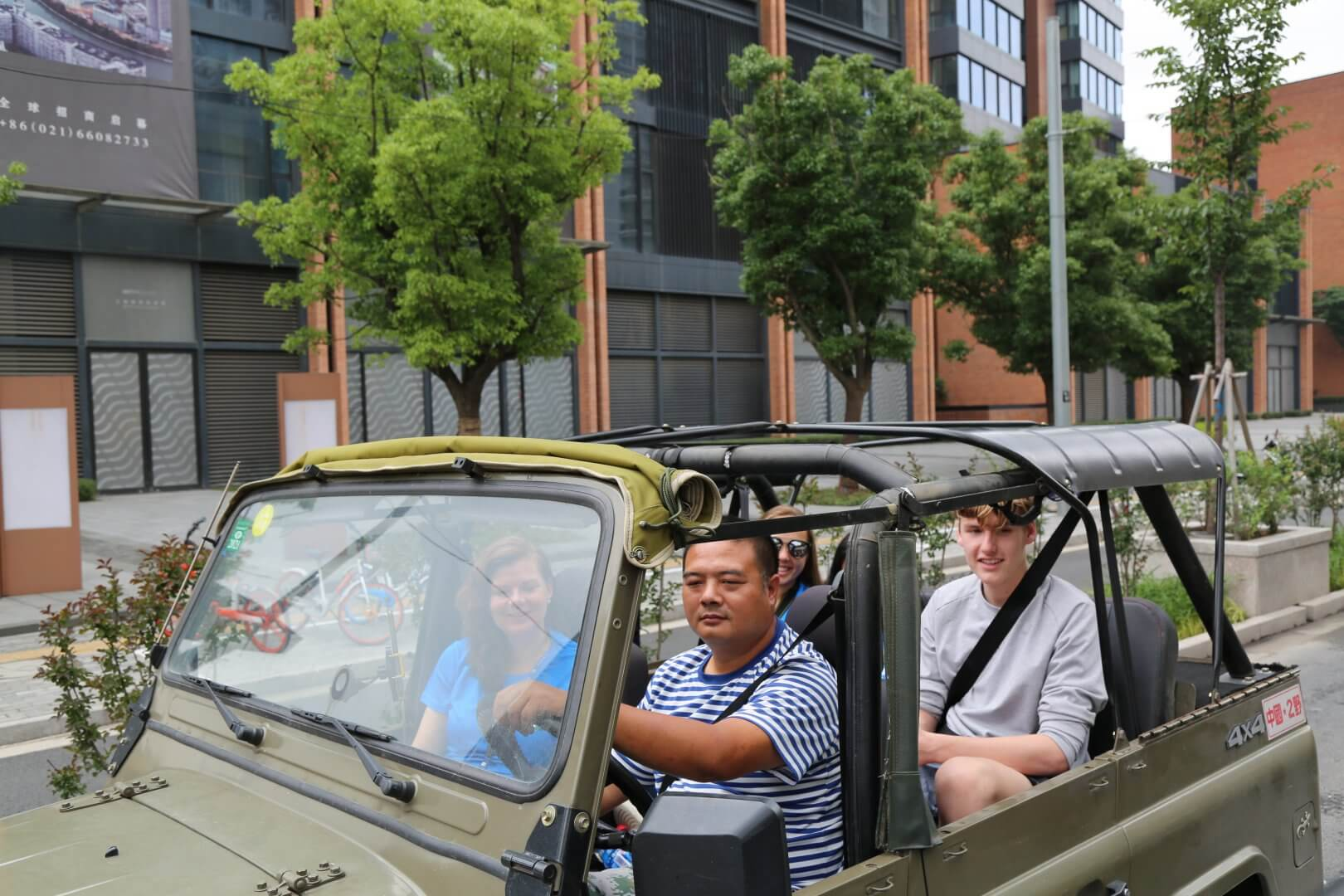 Jeep Tour in Shanghai