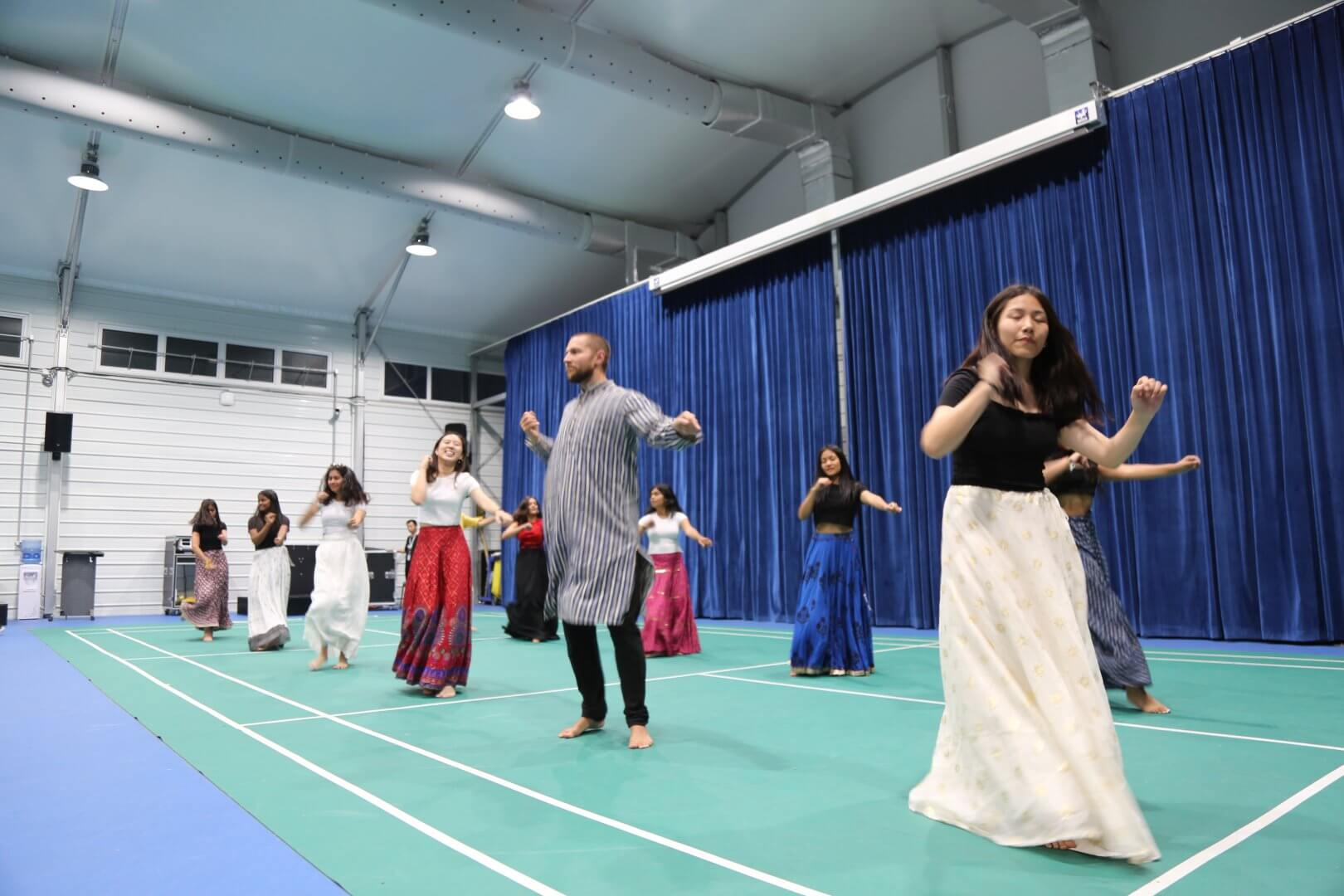 Cultural offering by Woodstock College