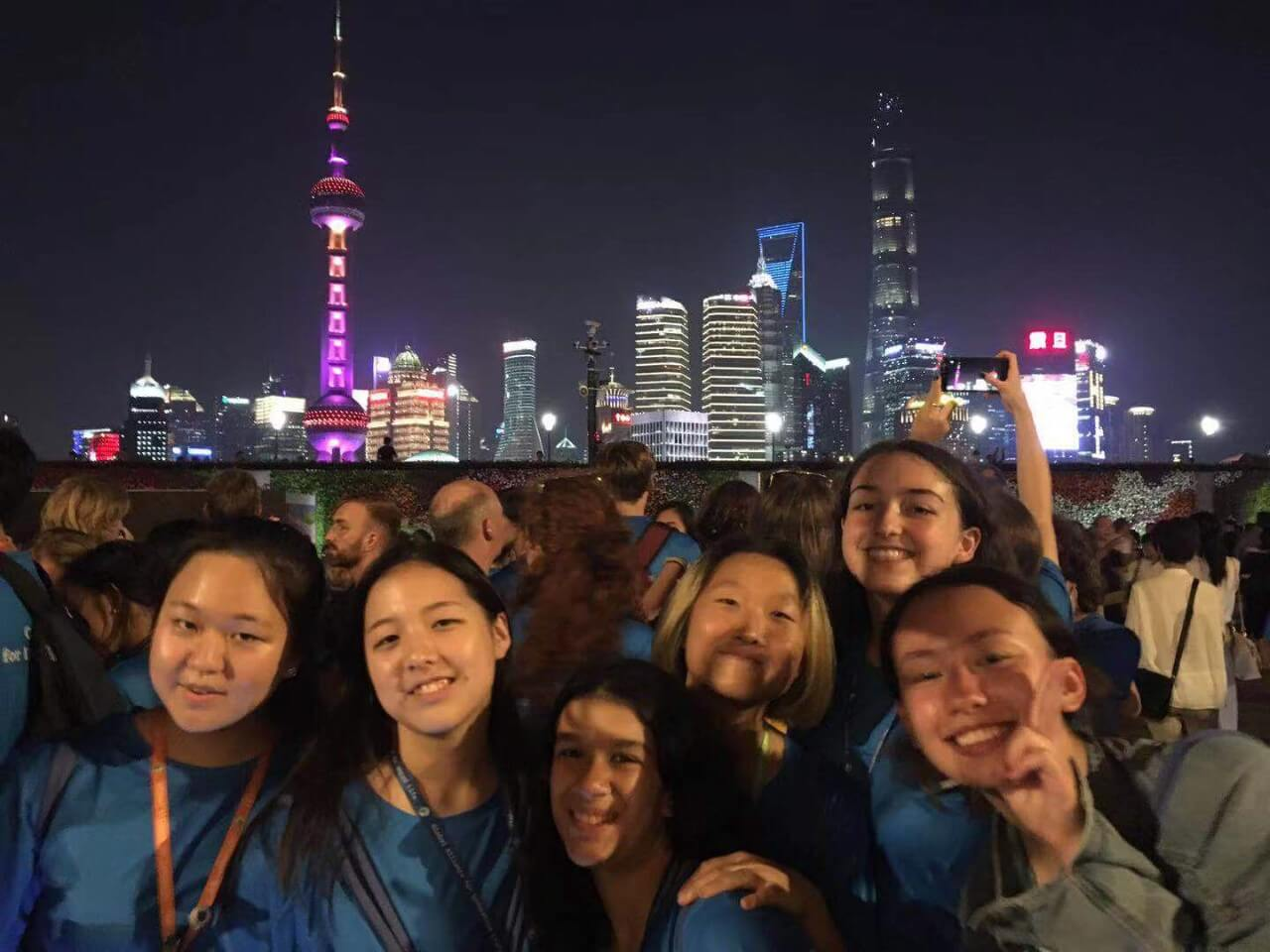 WISS students on the Bund
