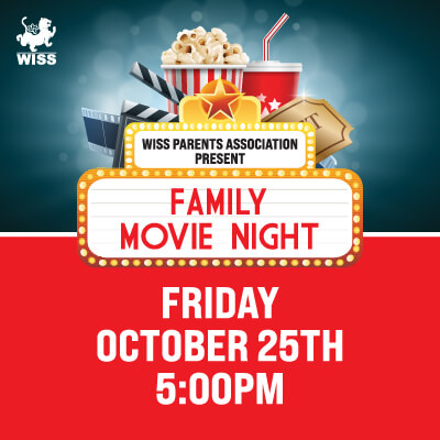 Family Movie Night @ Tiger Hall, WISS Campus