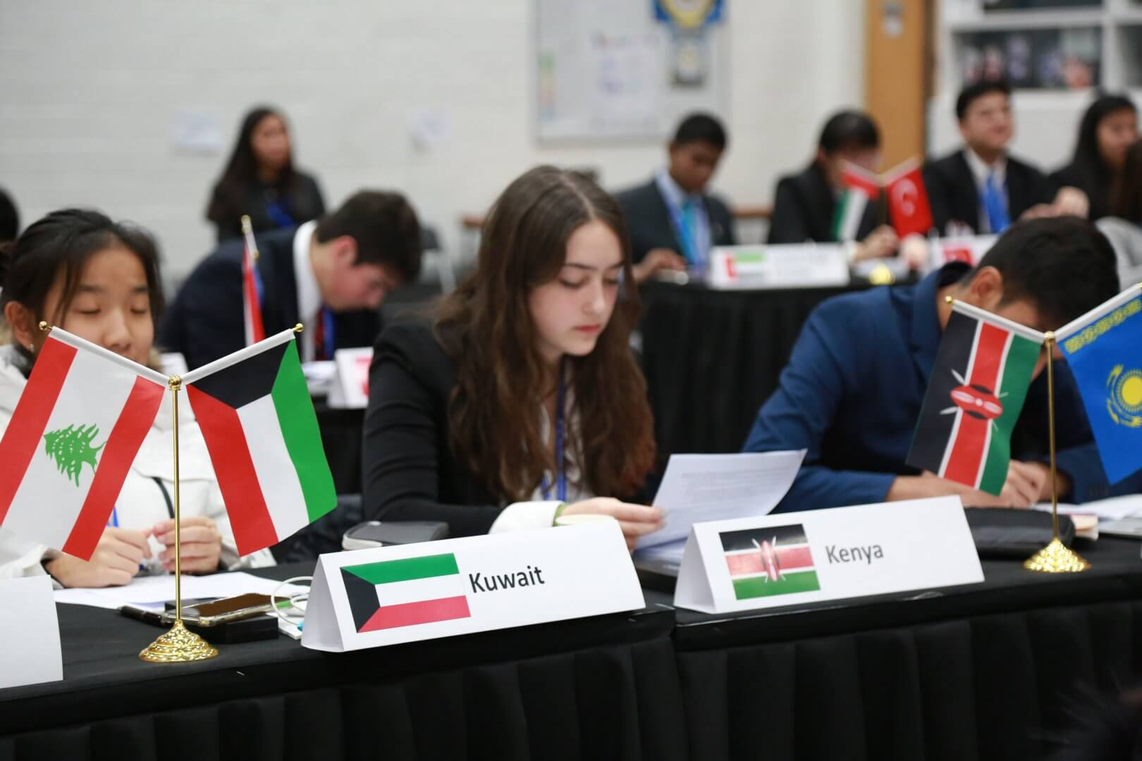 WISS student at MUN Conference