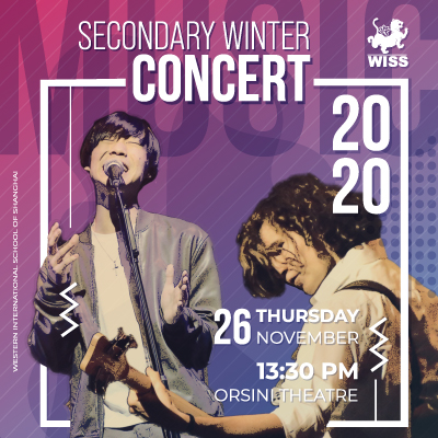 Secondary Winter Concert 2020 @ Orsini Theatre