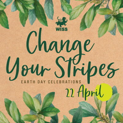 Change Your Stripes - Earth Day Celebrations @ WISS Campus