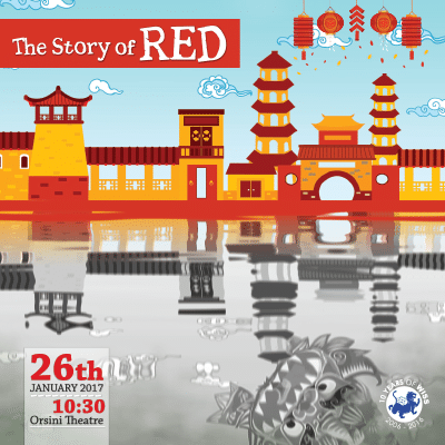 Grade 1-3 CNY Performance - 'The Story of RED' @ Orsini Theatre, WISS | Shanghai Shi | China