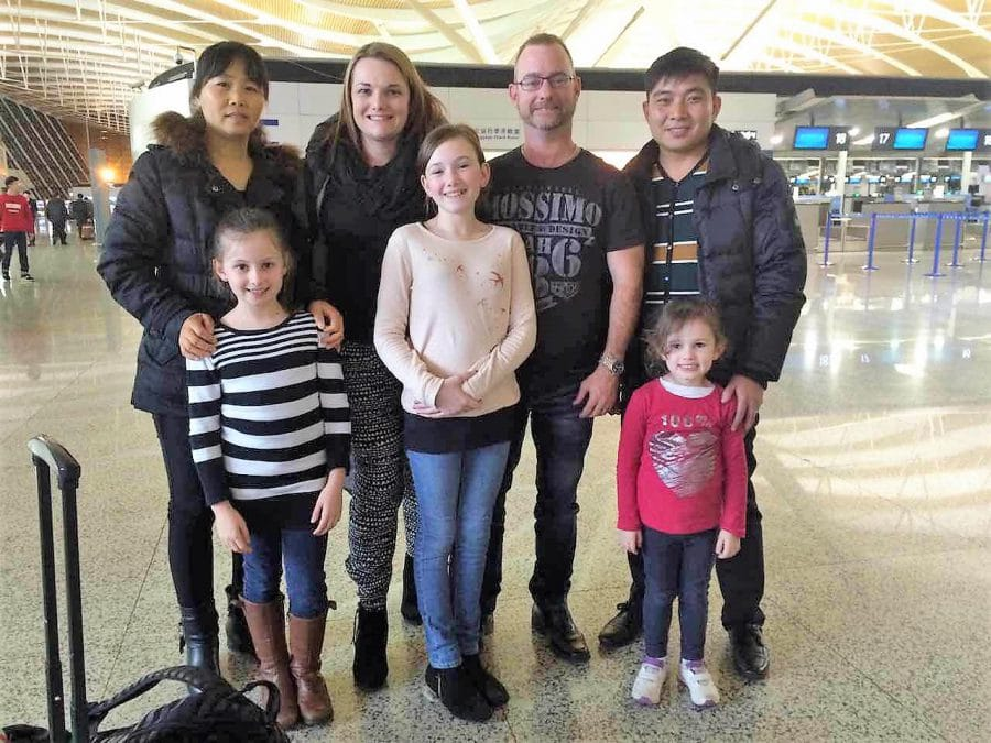 Farewelling our Chinese family (Jan 2015)
