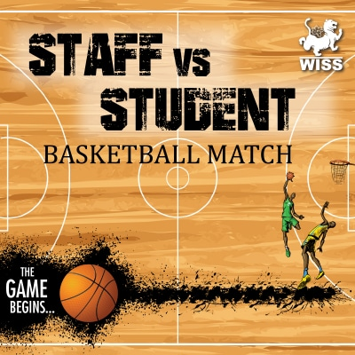 Staff vs Student Basketball Game @ WISS Campus | Shanghai Shi | China