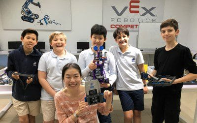 WISS Robotics at VEX-IQ Robotics National Invitations