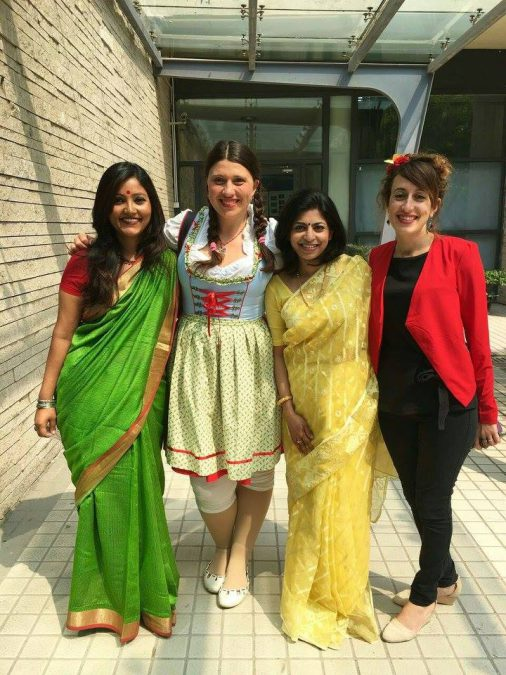 Teachers at International Day at WISS Shanghai