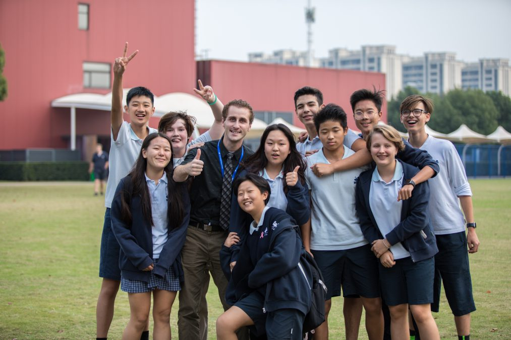 IB students at Western International School Shanghai