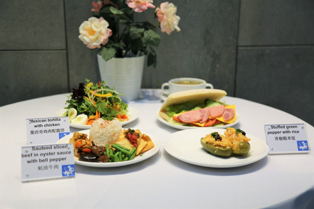 WISS Canteen School Cafeteria food Shanghai