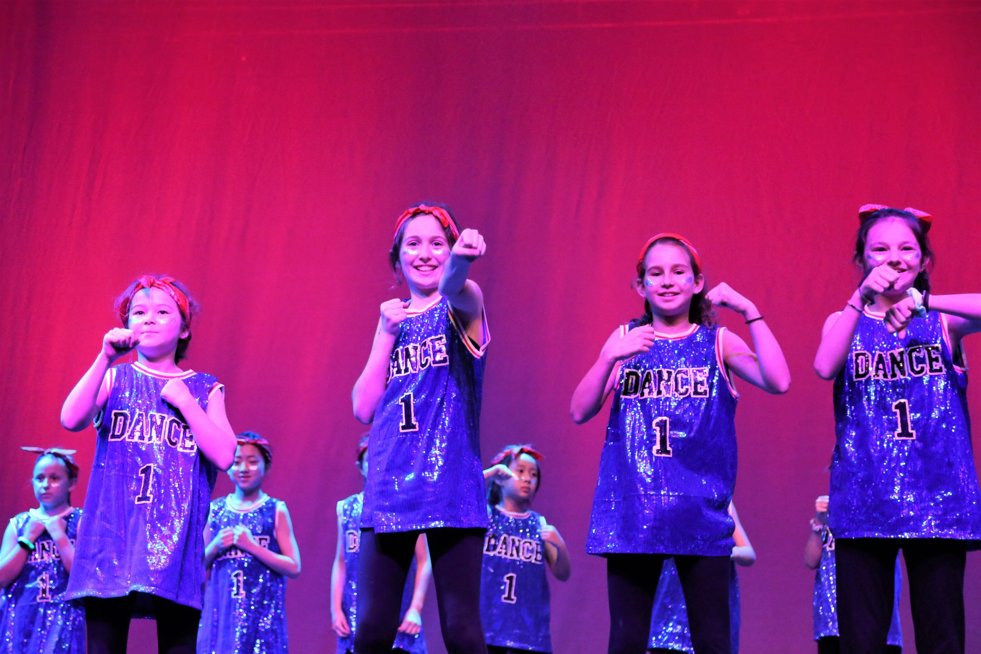 WISS Junior dancers during the Dance Festival at The Western International School of Shanghai (WISS)